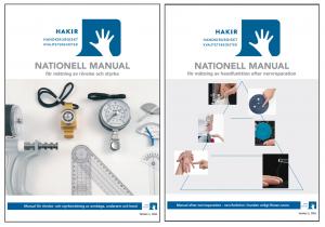 Båda manualerna på samma sida